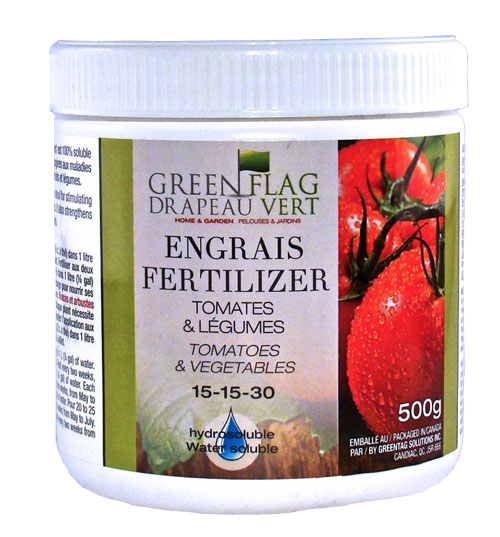 Greenflag drapeau vert fiche du produit for Engrais 3 fois 15