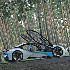 BMW Vision EfficientDynamics. Vision du futur rapproché