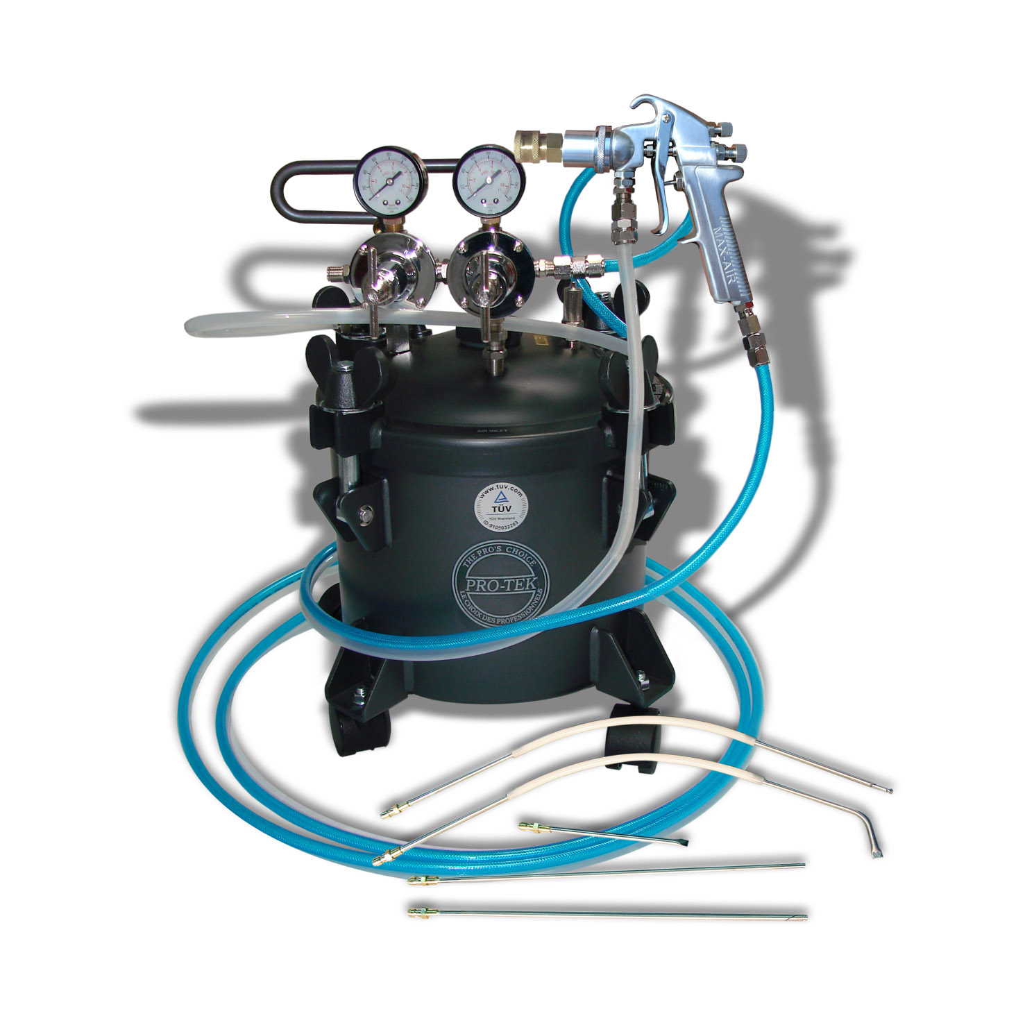 2 1 2 Gal Undercoating System Pro Teksprayequipment Com