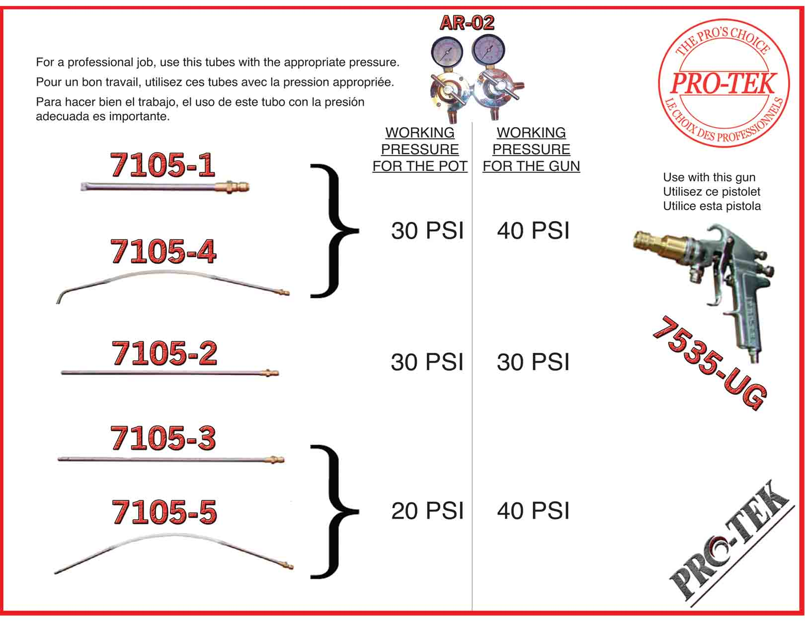 Pbe Pro Tek 7535 Ug Undercoating Gun Only