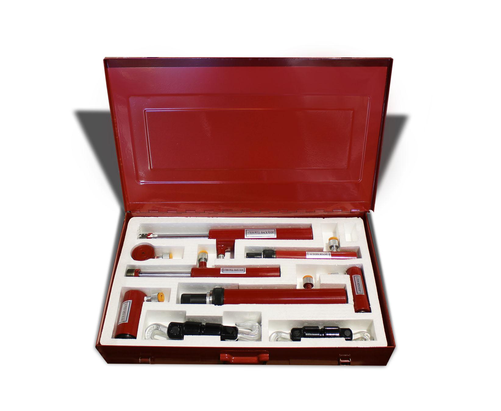 Portable Hydraulic Body Repair Tool Kit Pro