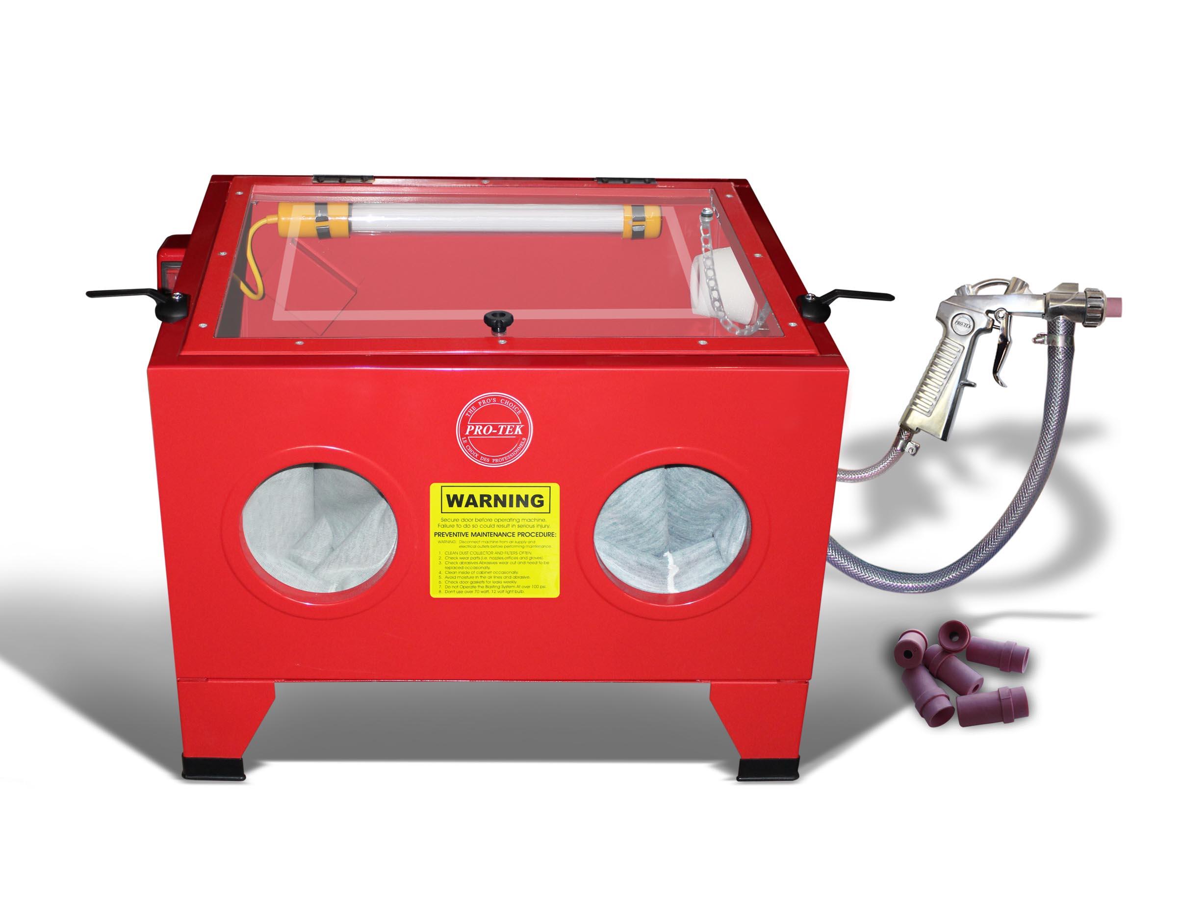 Sandblasting Cabinet Pro Teksprayequipment Com