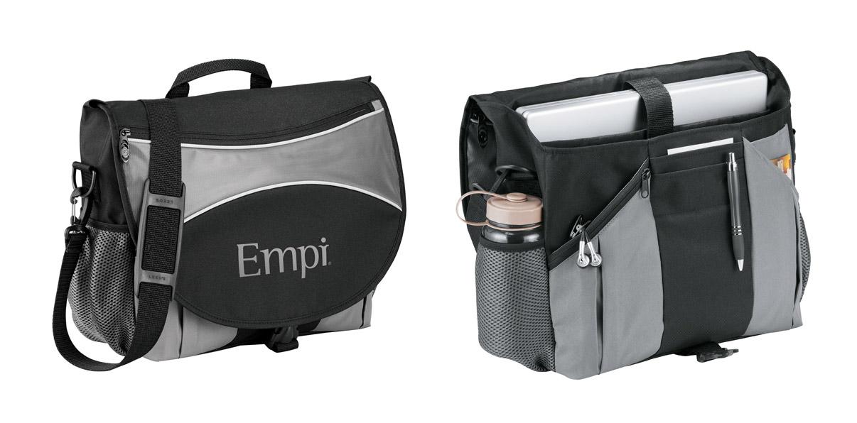 Stretch Compu-Mesenger Bag