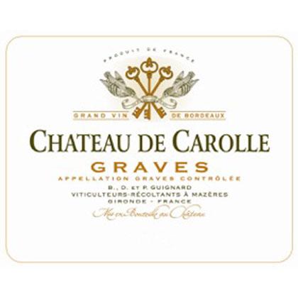 Ch�teau de Carolle, Vignobles Guignard