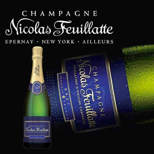 Champagne et mets � partager le plaisir