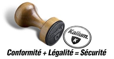 Conformité + Légalité = Sécurité