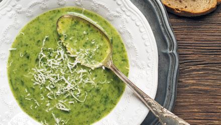 Des soupes printanières pleines de vertus