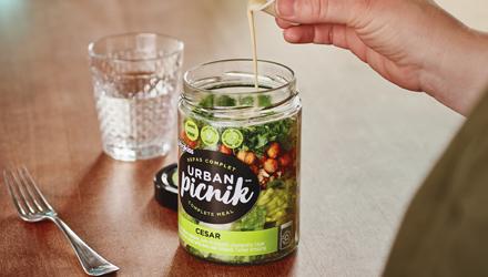 Salade sur le pouce