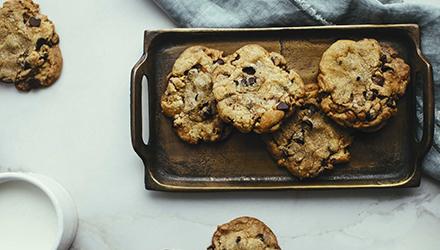 Les meilleurs biscuits aux pépites de chocolat