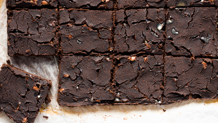 La Triple salto-brownies