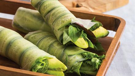 Salade roulée