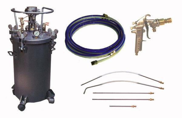 10 Gal Undercoating Systems Pro Teksprayequipment Com