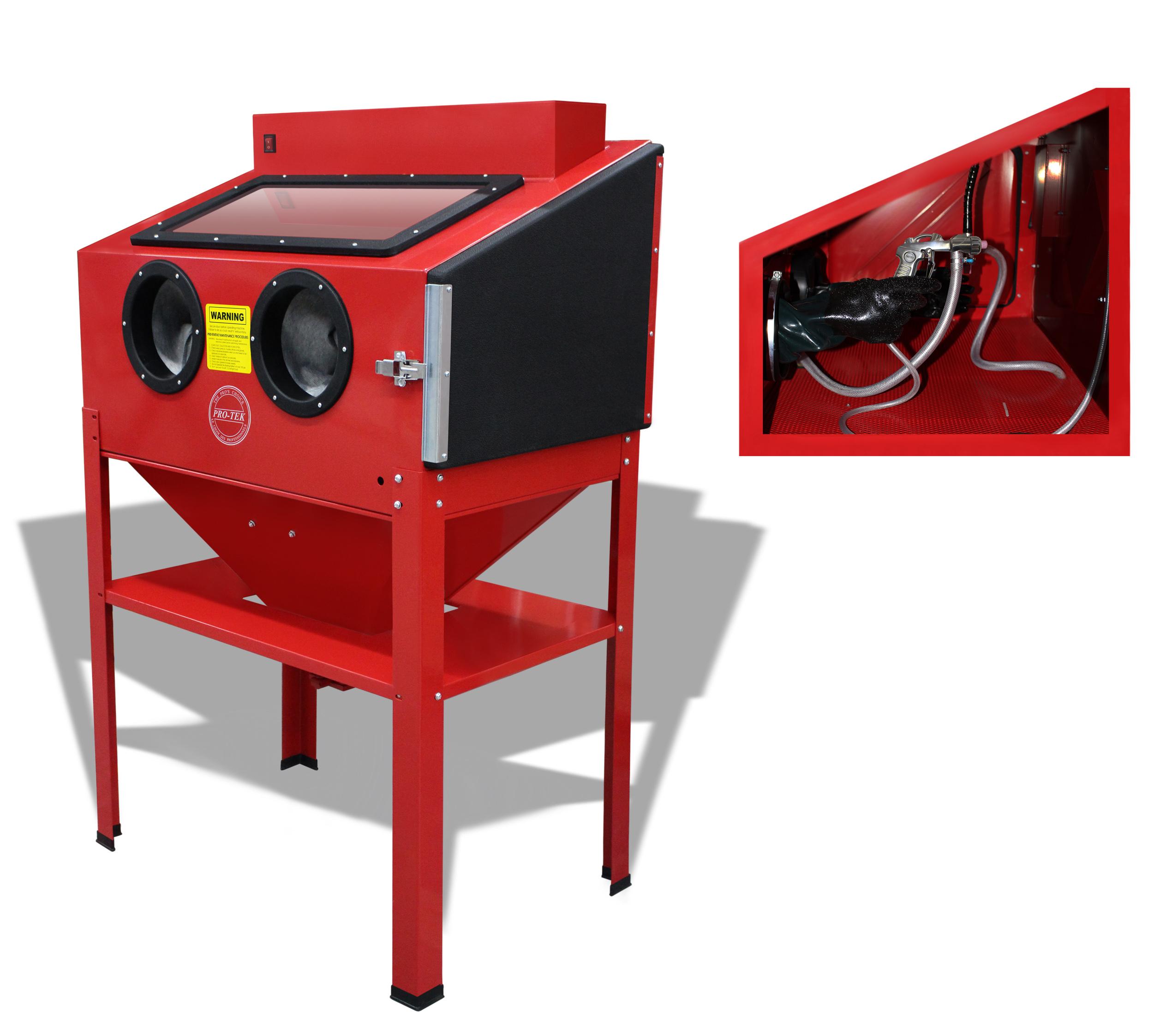 heavy duty sandblasting cabinet pro. Black Bedroom Furniture Sets. Home Design Ideas