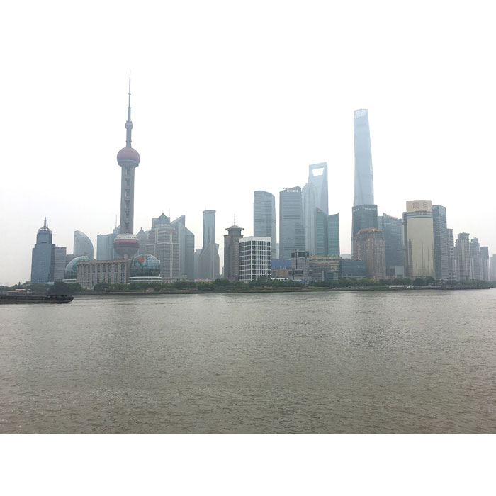 Shanghai - le quartier des affaires