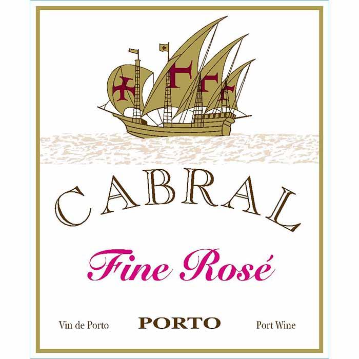 Cabral Fine Rosé, Vallegre Vinhos do Porto