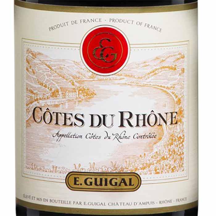 Côtes du Rhône, E. Guigal