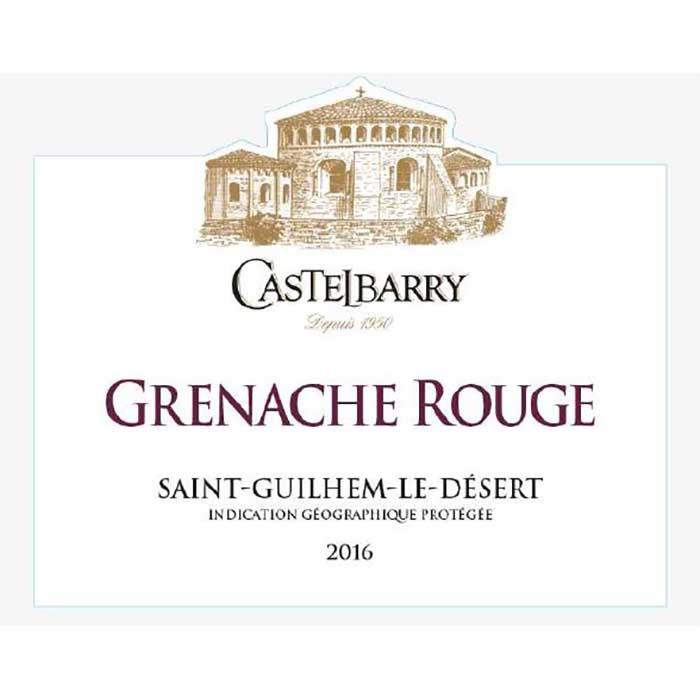 Castelbarry Grenache Rouge,