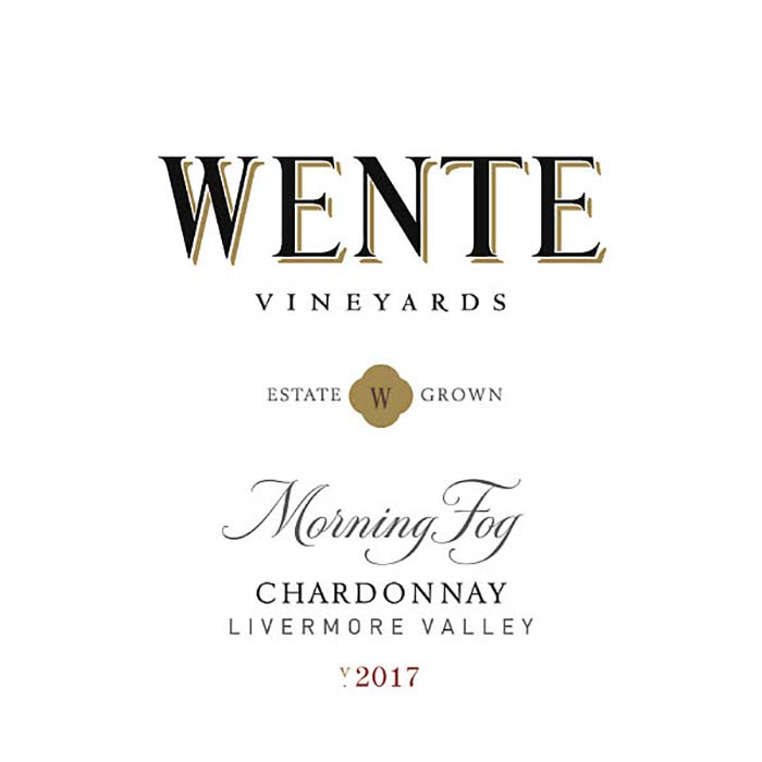Morning Fog Chardonnay, Wente Vineyards