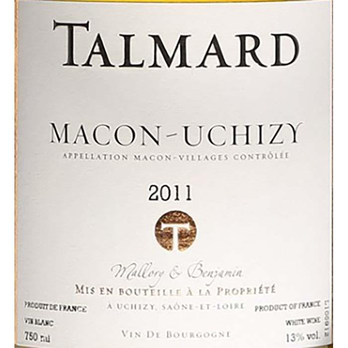 Mâcon-Uchizy, Mâcon Villages, Talmard Mallory & Benjamin
