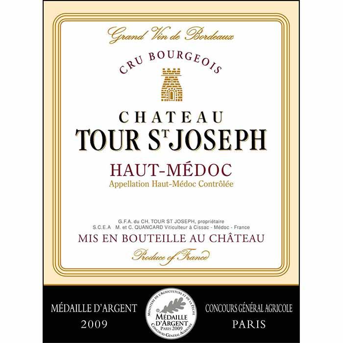 Château Tour St-Joseph, Cru Bourgeois Haut-Médoc, Cheval Quancard